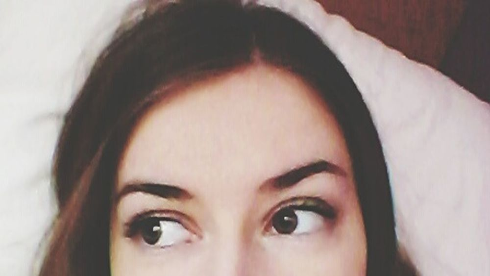 Big Eyes Looking Into The Future Look Me In The Eyes My Eyes <3 Beauty Is In The Eye Of The Beholder :) Brown Eyes