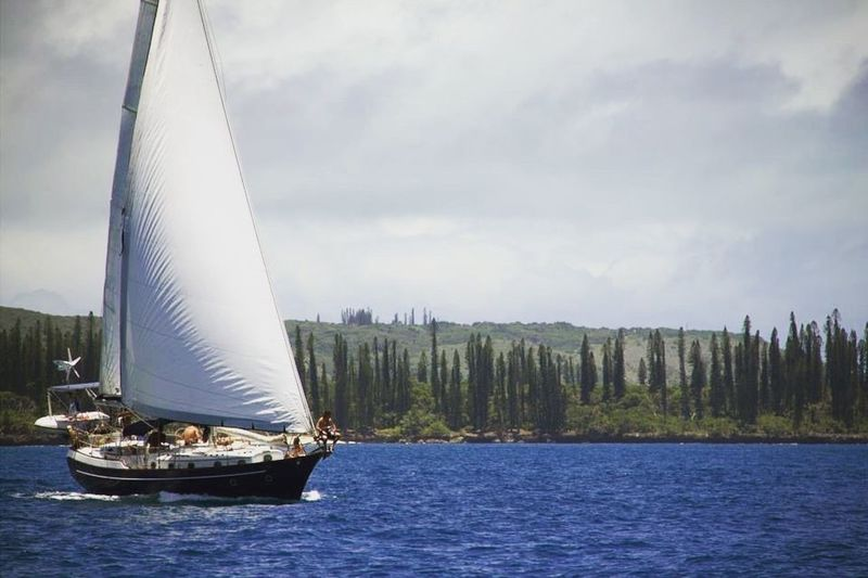 Sailing Nautical Vessel Sailboat Transportation Sky Mast Water Nature Outdoors Adventure Day Tall Ship New Caledonia Ile Des Pins