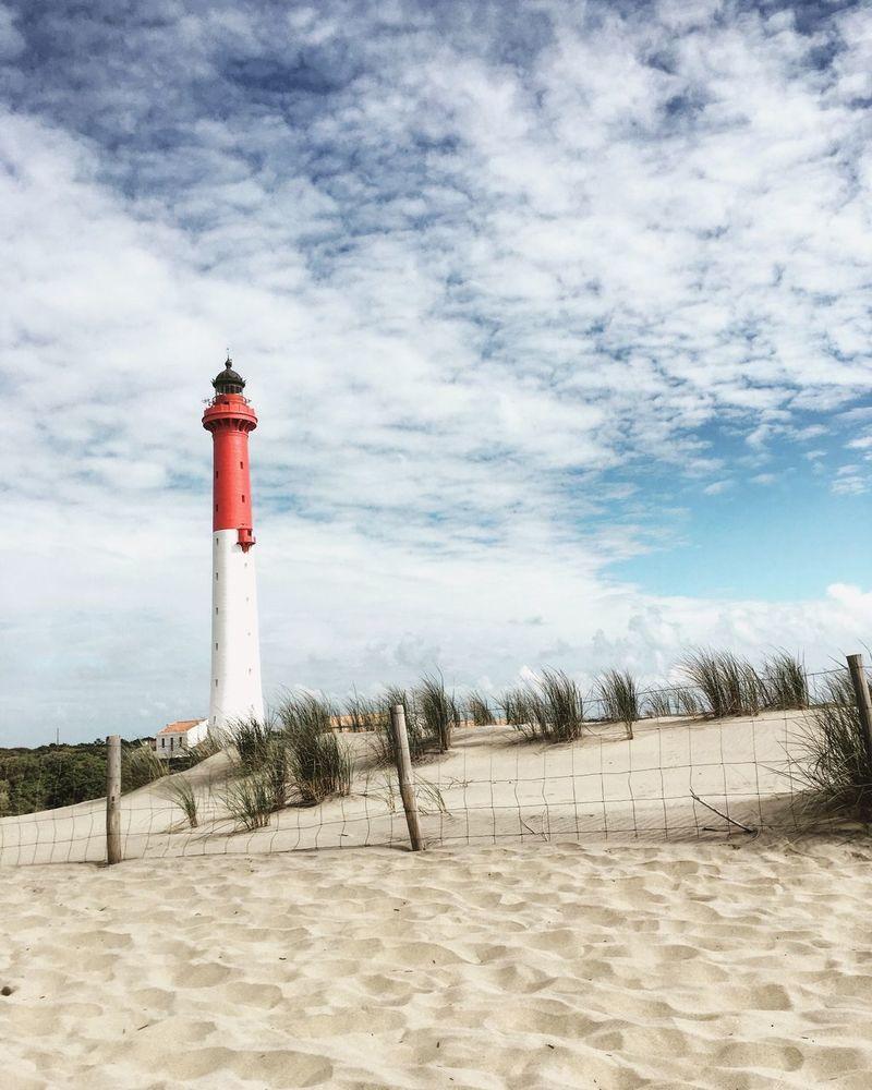 Phare De La Coubre Lighthouse Beach France