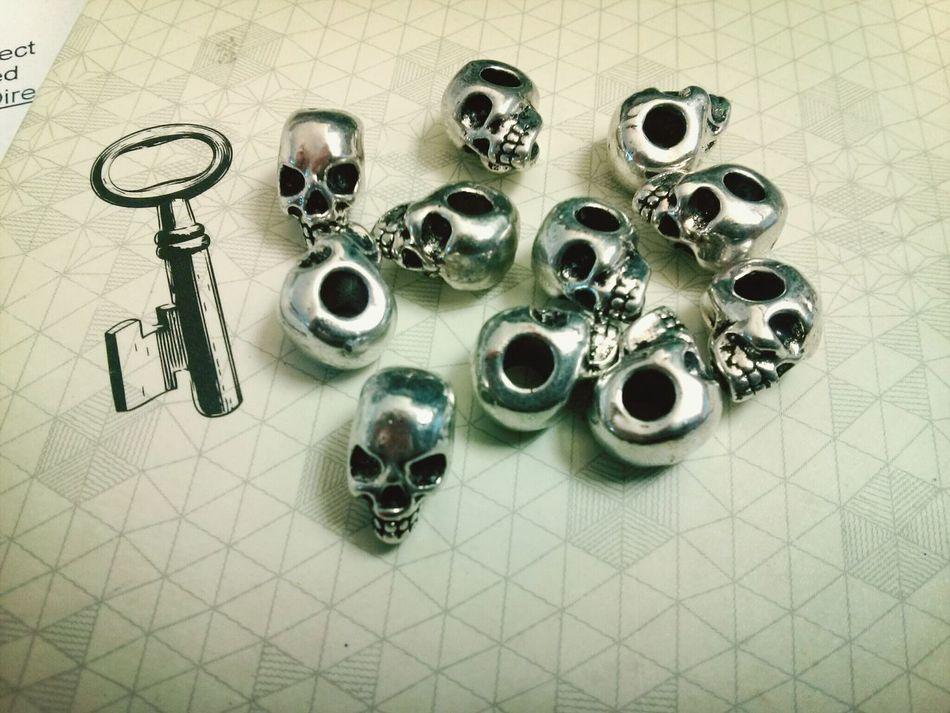 More jewelry making goodness. Skull Jewelry