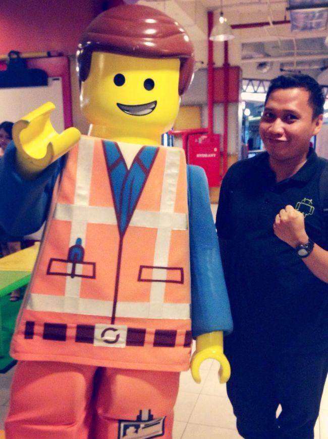 Emmet! LEGO Legomovie Selfie