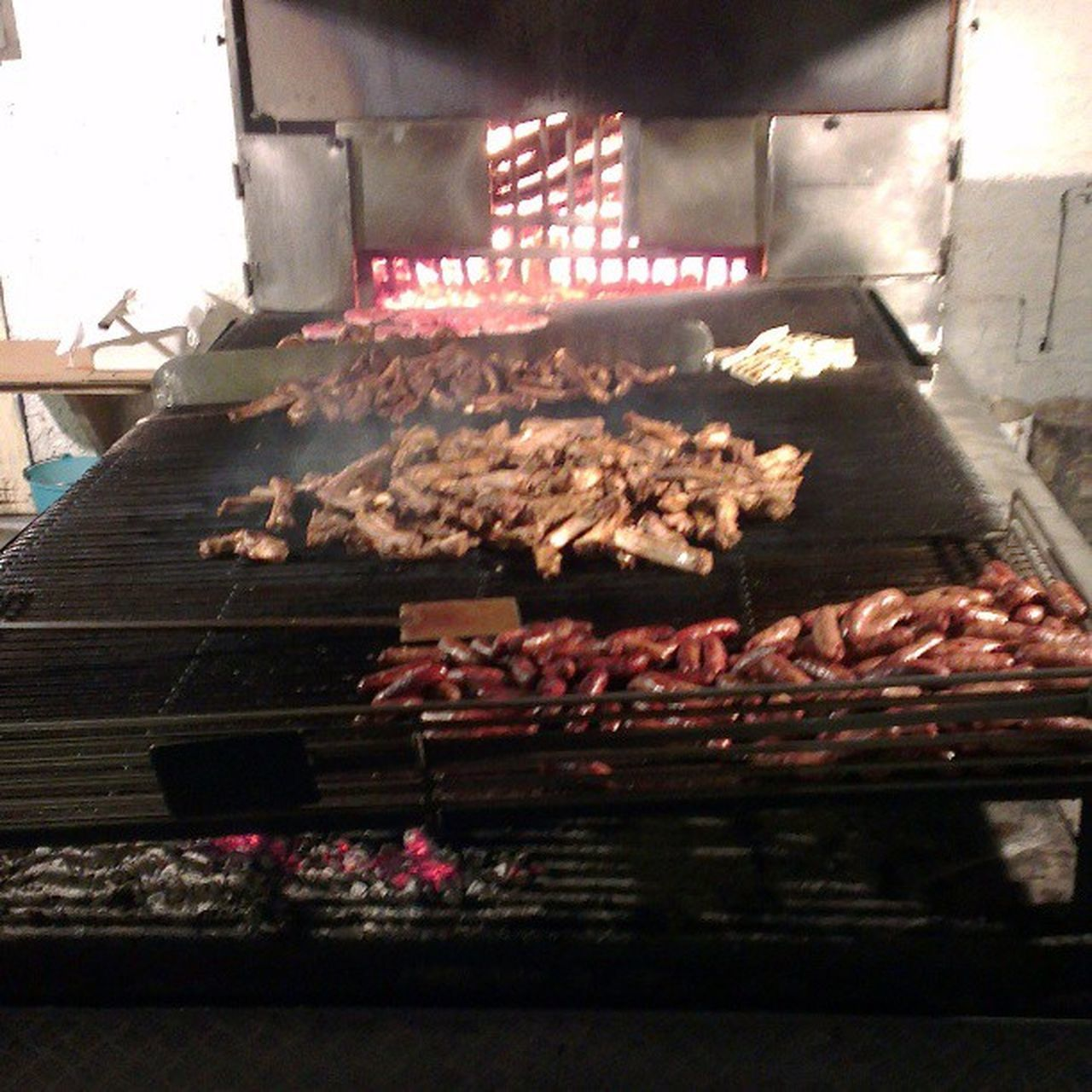 food and drink, food, meat, preparation, freshness, barbecue, no people, indoors, night, close-up