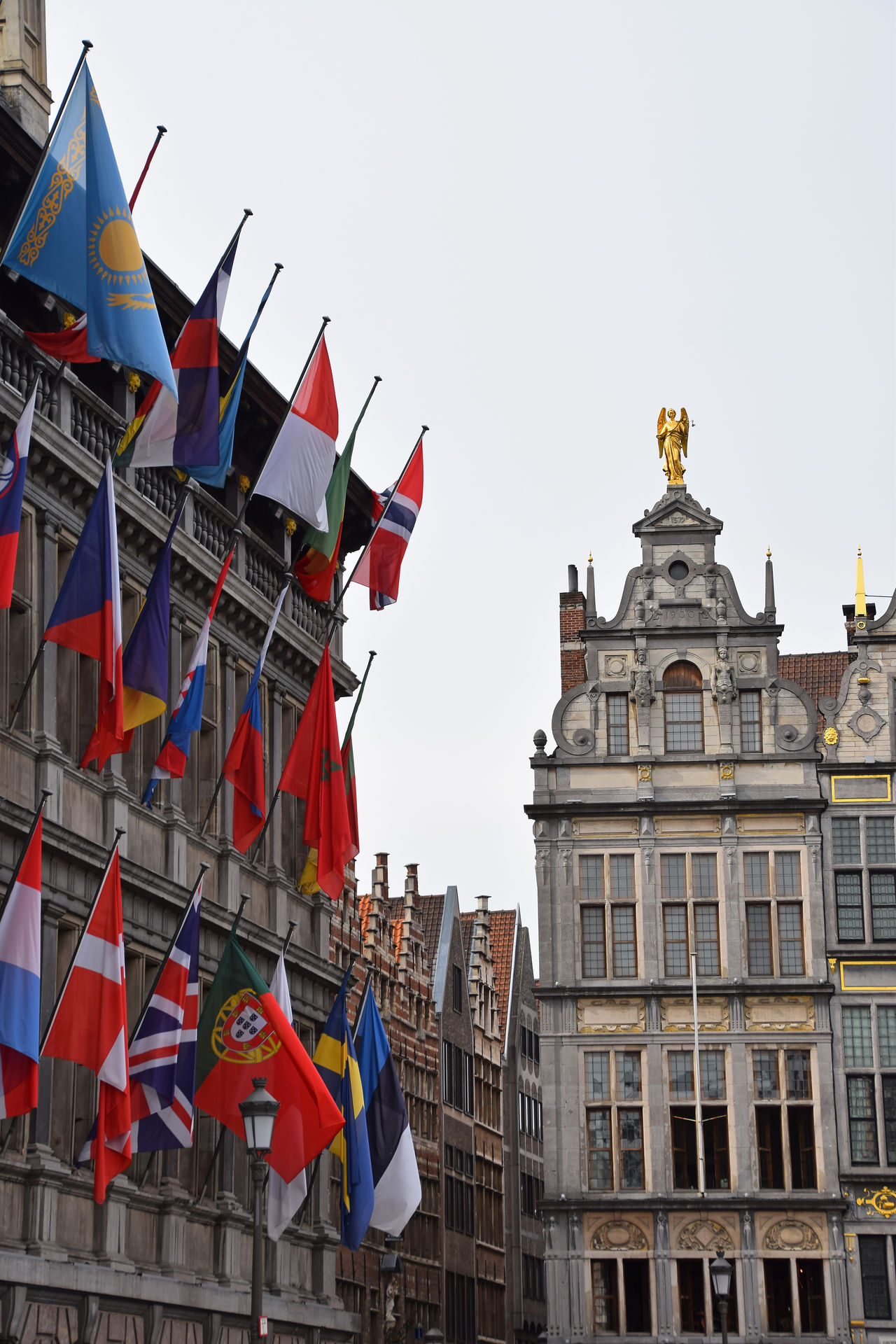 Old city in Antwerp, Stadhuis with flags, Belgium Antwerp Antwerp, Belgium Antwerpen Architectural Detail Architecture Architecture Architecture_collection Architecturelovers Building Building And Sky Building Exterior Building Story Buildings & Sky Buildings Architecture Buildingstyles Built Structure Flag Old Old Buildings Old City Outdoors Stadhuis Travel Travel Destinations
