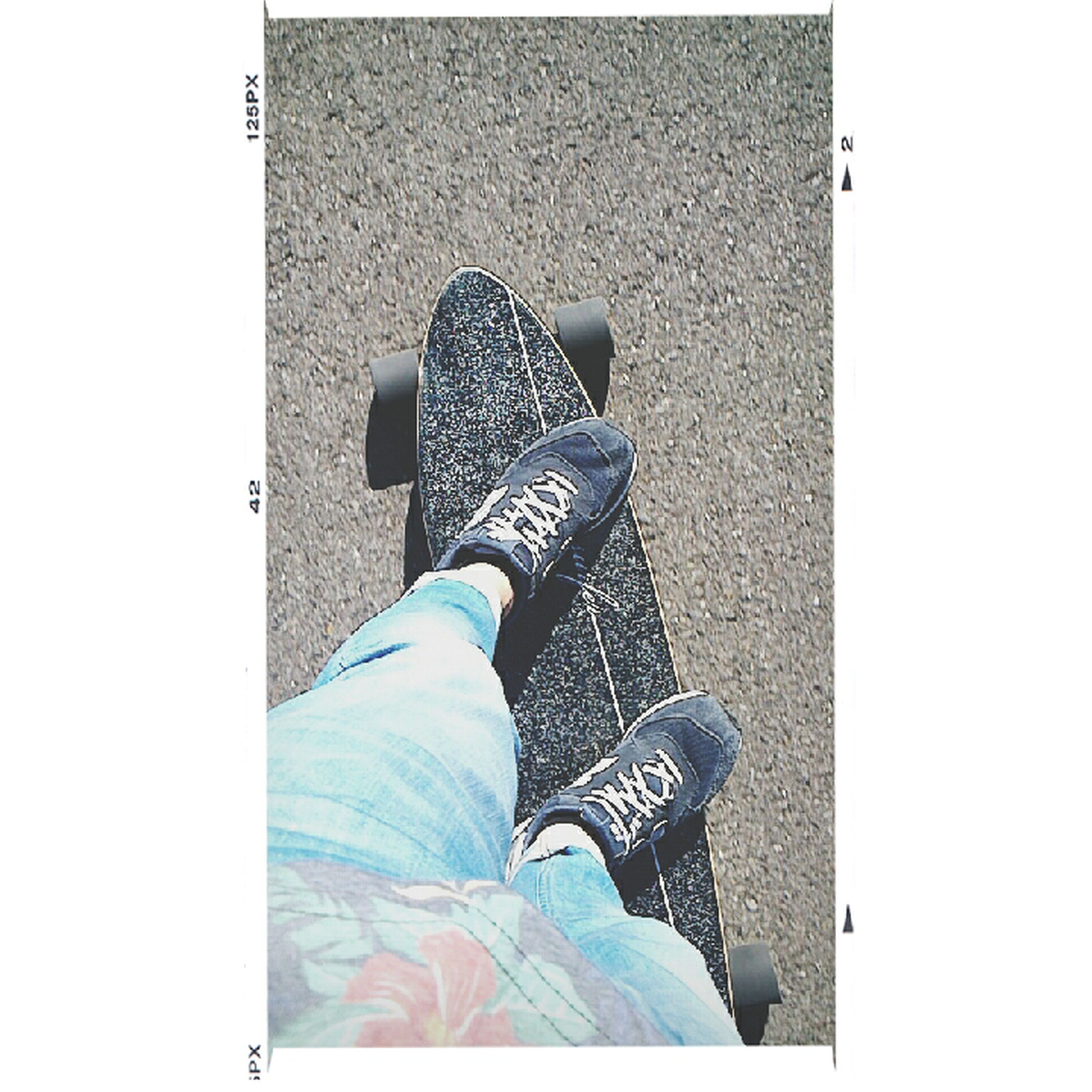 low section, shoe, person, lifestyles, personal perspective, standing, footwear, jeans, high angle view, transfer print, leisure activity, casual clothing, men, auto post production filter, human foot, sitting, relaxation