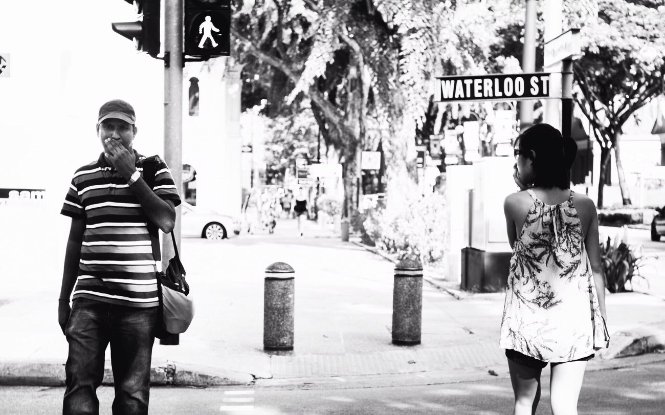 The Street Photographer - 2014 EyeEm Awards - Bilateral syncronicity. Black And White Stree Photography