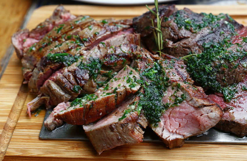 Chateaubriand meat beef, close up BBQ BBQ Time Beef Chateaubriant France Meat! Meat! Meat! Roastbeef Beef Beefsteak Chateaubriand  Close-up Cutting Board Fillet Food Food And Drink Freshness Gourmet Grill Grilled Meat Medium Rare Piece Portion Ready-to-eat Roast Steak Food Stories