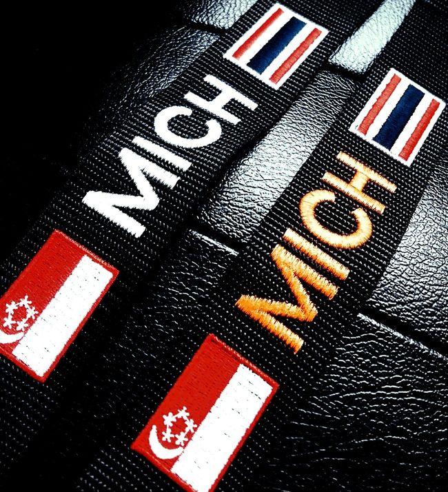 my new name taggies! whoohoo! Bagtags Beachroadsingapore Armymarketsingapore Singapore