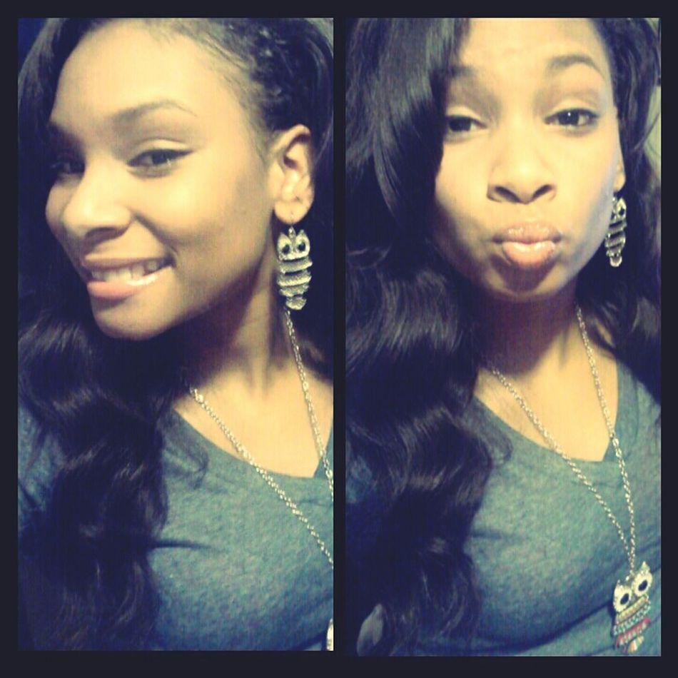 Yesterday, but still cute.