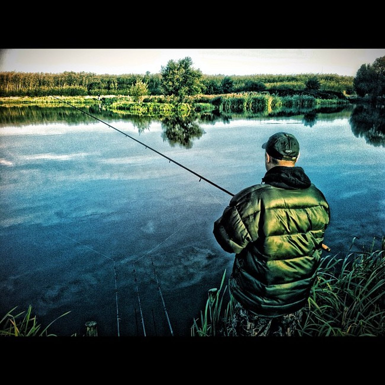 Pike spinner Fishing HDR Angling Ukigers Bedsigers