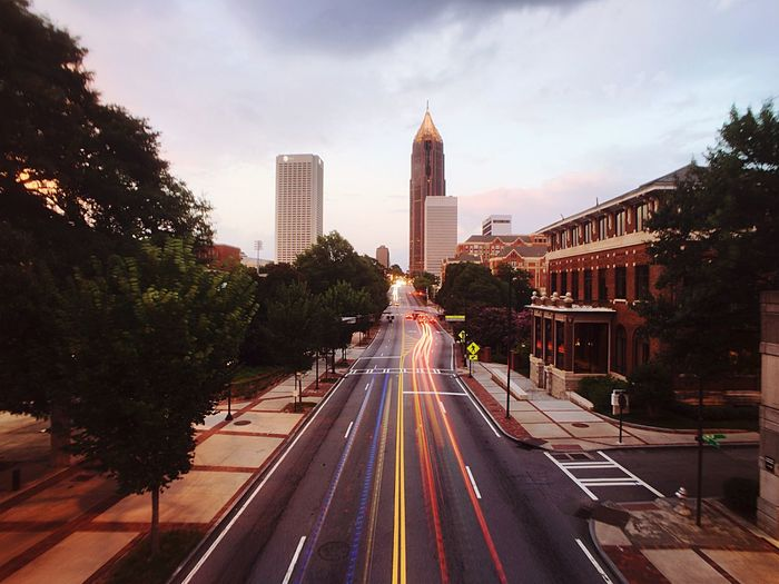 The Journey Is The Destination Coming And Going Headlights And Taillights Georgia Tech Check This Out Hanging Out Miles Away