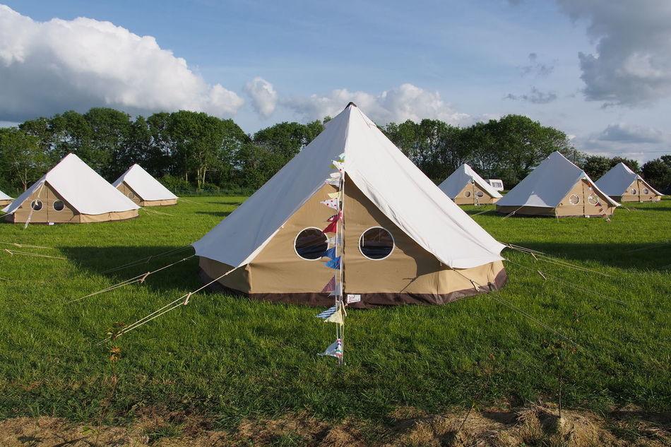 Beautiful stock photos of camping, Blue Sky, Camping, Clouds, Discipline