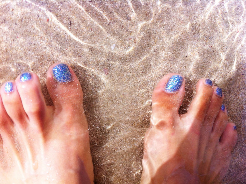 Beach Goto Island Nagasaki Summer Blue Barefoot