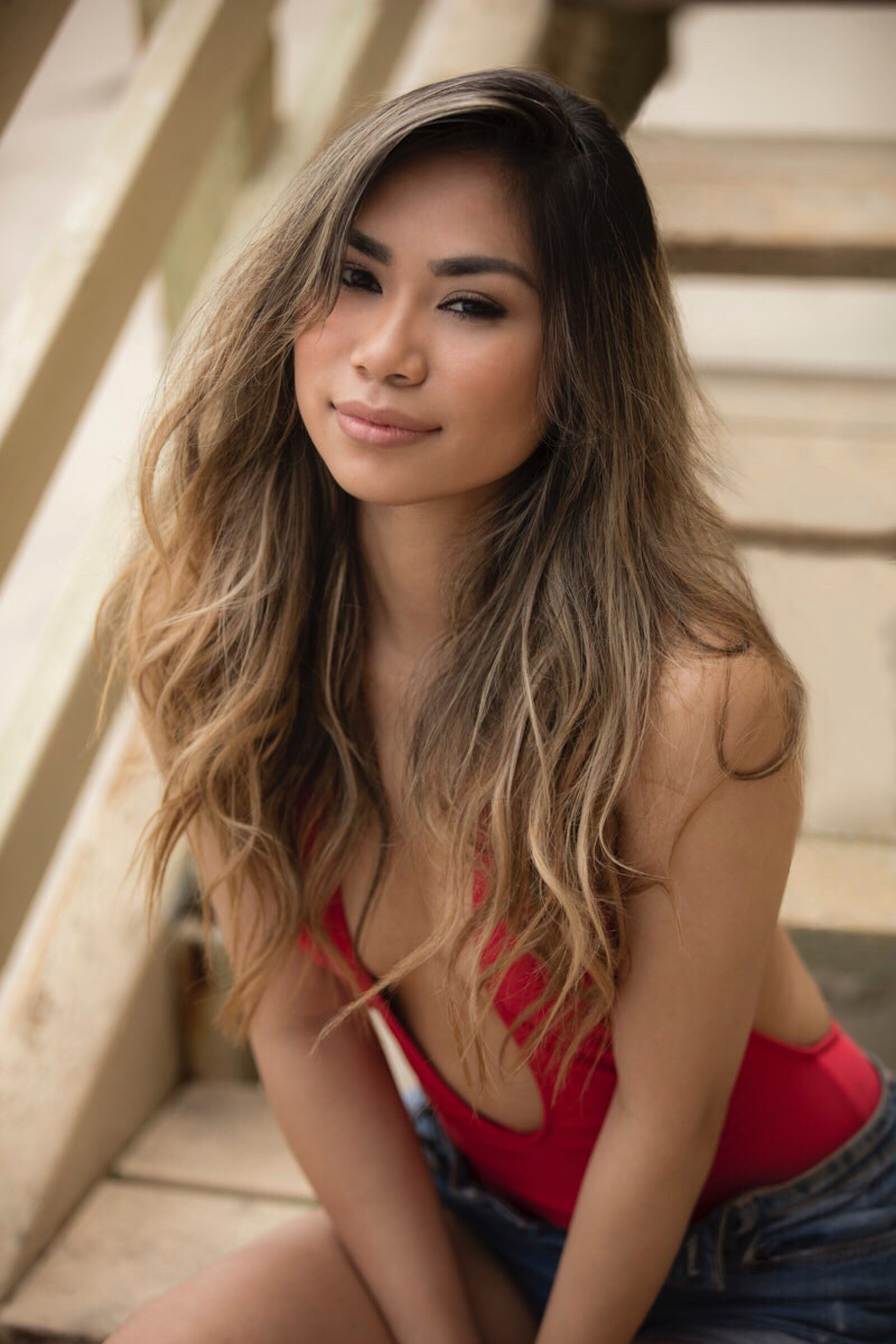 American Idol Contestant Jessica Sanchez for MostMag Editorial  Modeling Celebrity Music Artist