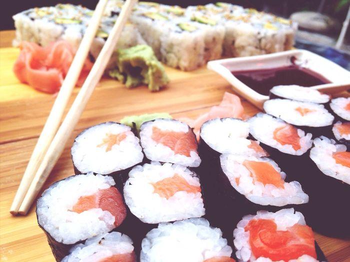 Sushi Yummy Delicious Lunch