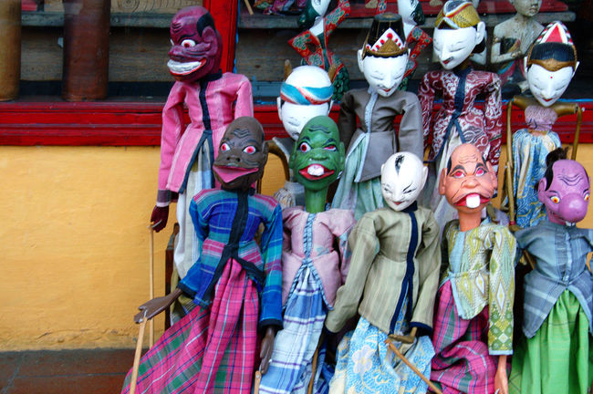 Copy Space Traditional Puppets. These ritual puppets are traditionally associated with performing arts such as drama, rituals and performances. Arts And Entertainment Bali, Indonesia Colour Image Colourful Entertainment For Sale Indonesian Culture Man Made Objects Marionettes Masks Arts And Crafts Nobody Outdoors Puppetry Puppets Theatrical Traditional Ubud, Bali