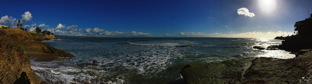 Sun Cliffs Beach Enjoying Life Surf Santa Cruz California