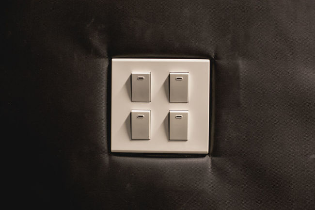 Box - Container Close-up Connection Convenience Geometric Shape Indoors  No People Office Supply Single Object Square Shape Still Life Switches