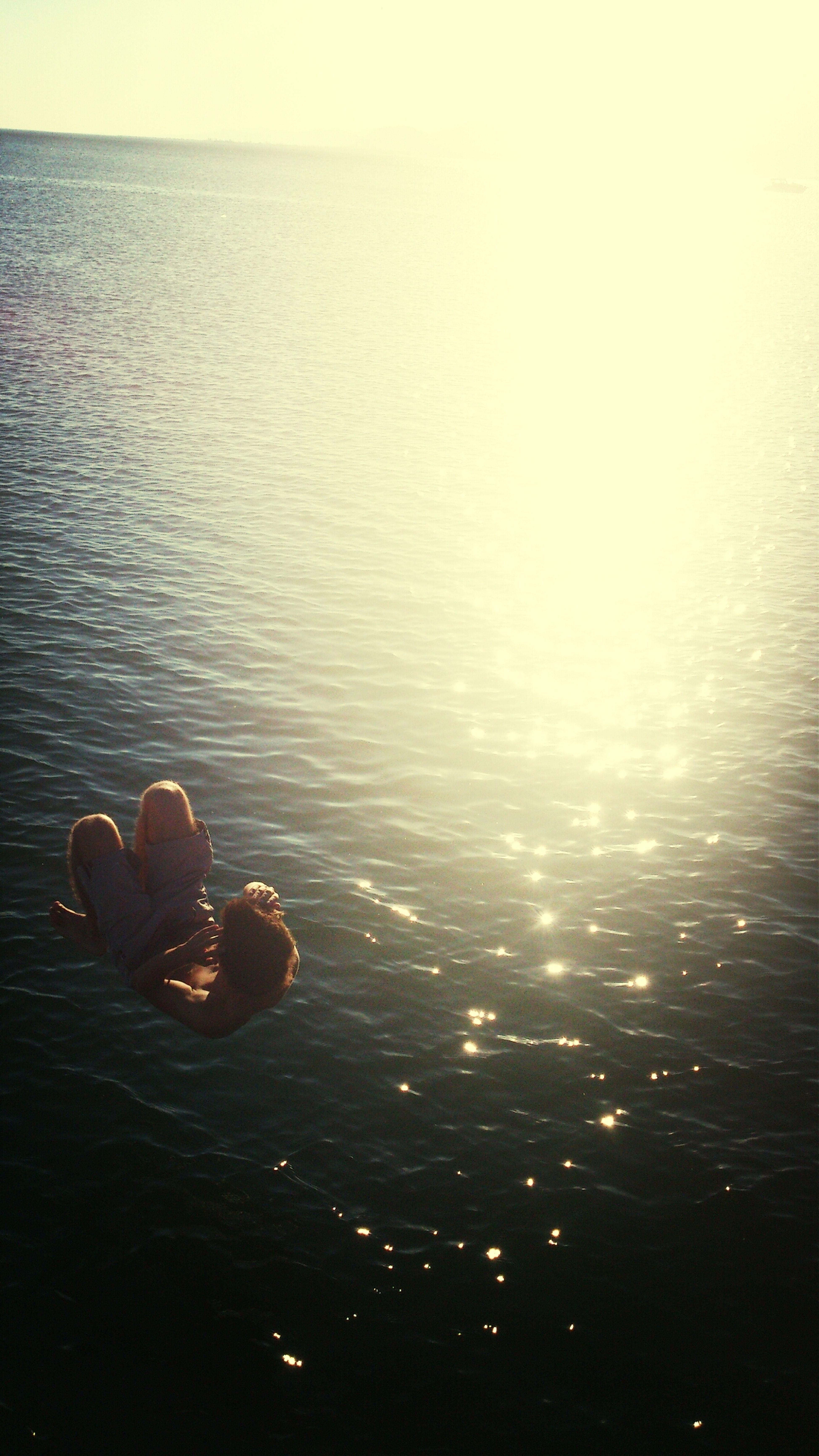 Swimming Sea Hi!