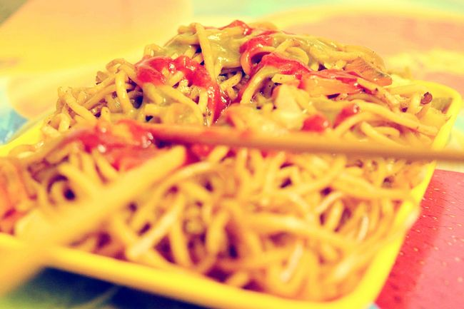 Show Us Your Takeaway!Chinese Food Chinese Noodles Indian Style Noodles Indian Food Indian Spices Spices Hello World Taking Photos Check This Out EyeEm Best Shots EyeEm Masterclass EyeEm Gallery India ASIA Food Porn My Favorite Photo Street Food Worldwide