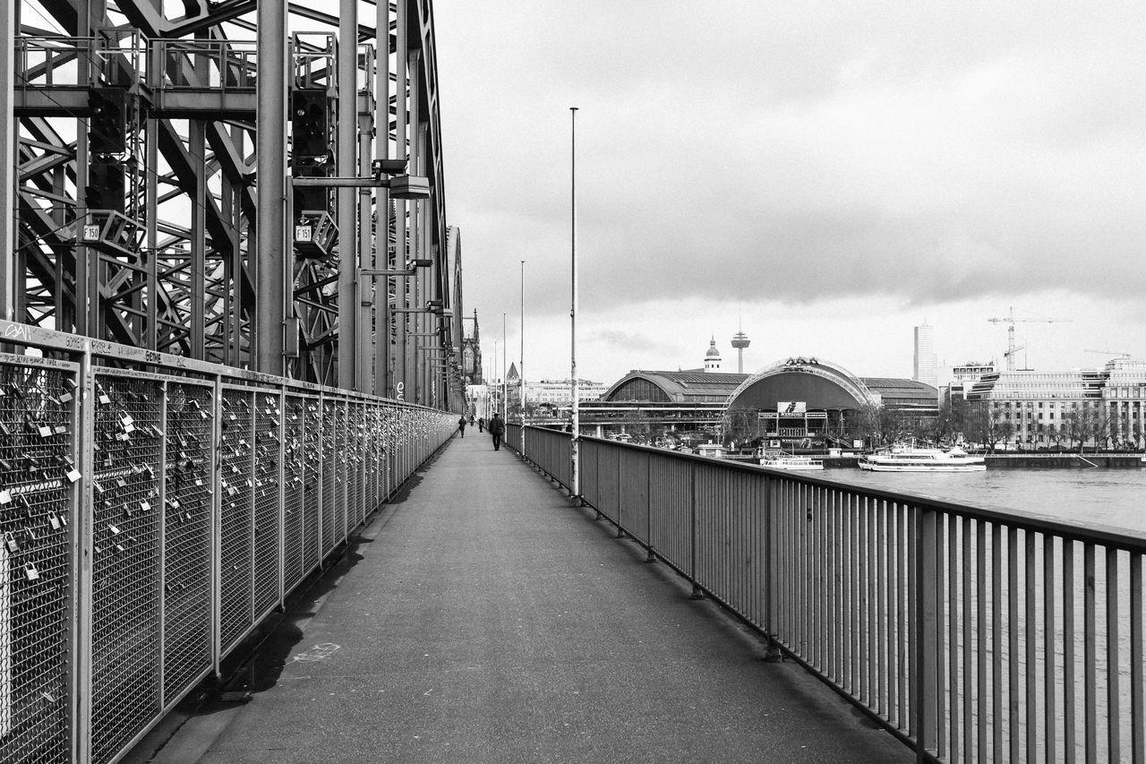 Padlocks On Railing At Hohenzollern Bridge
