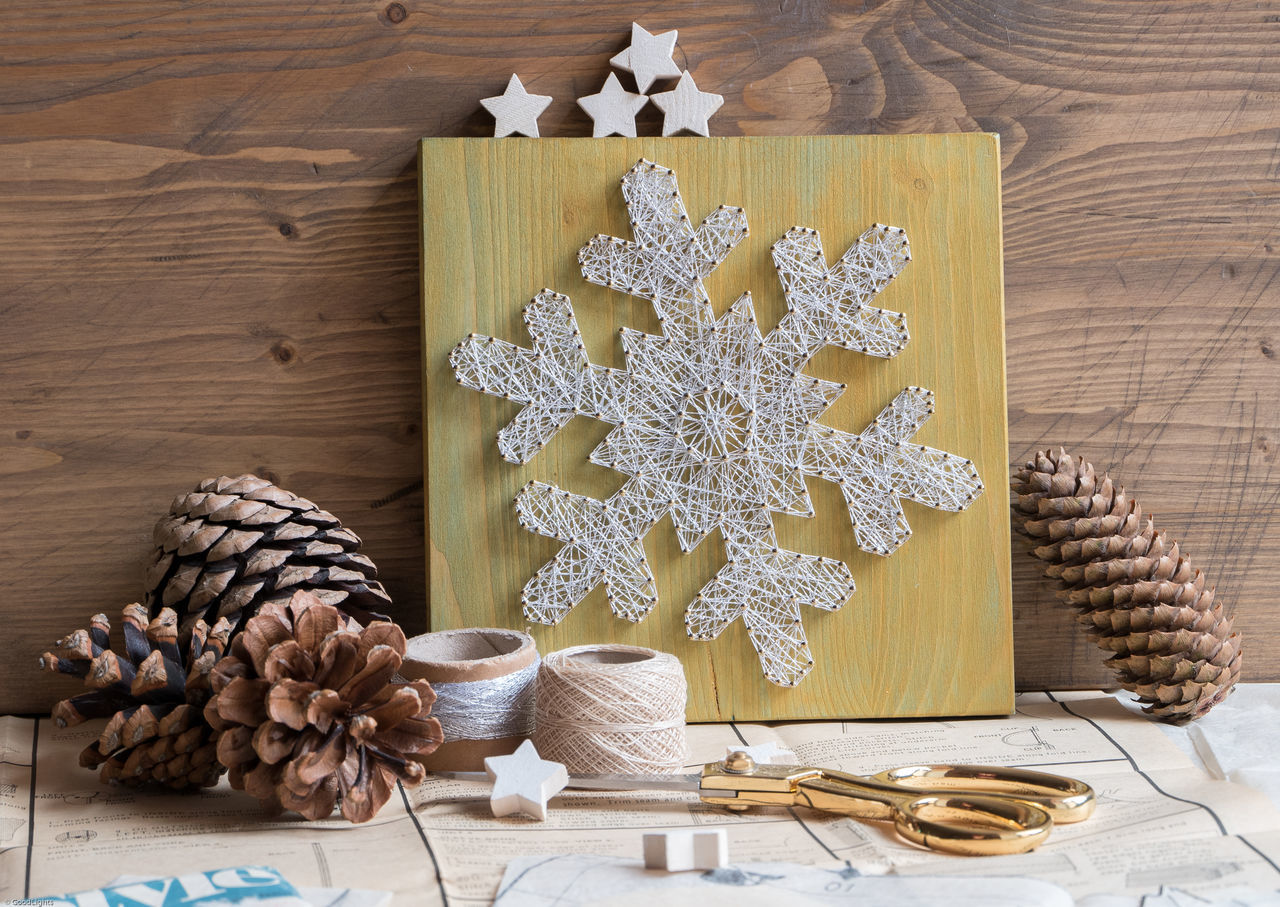 Beautiful stock photos of schneeflocken,  Art,  Art And Craft,  Christmas,  Christmas Decoration