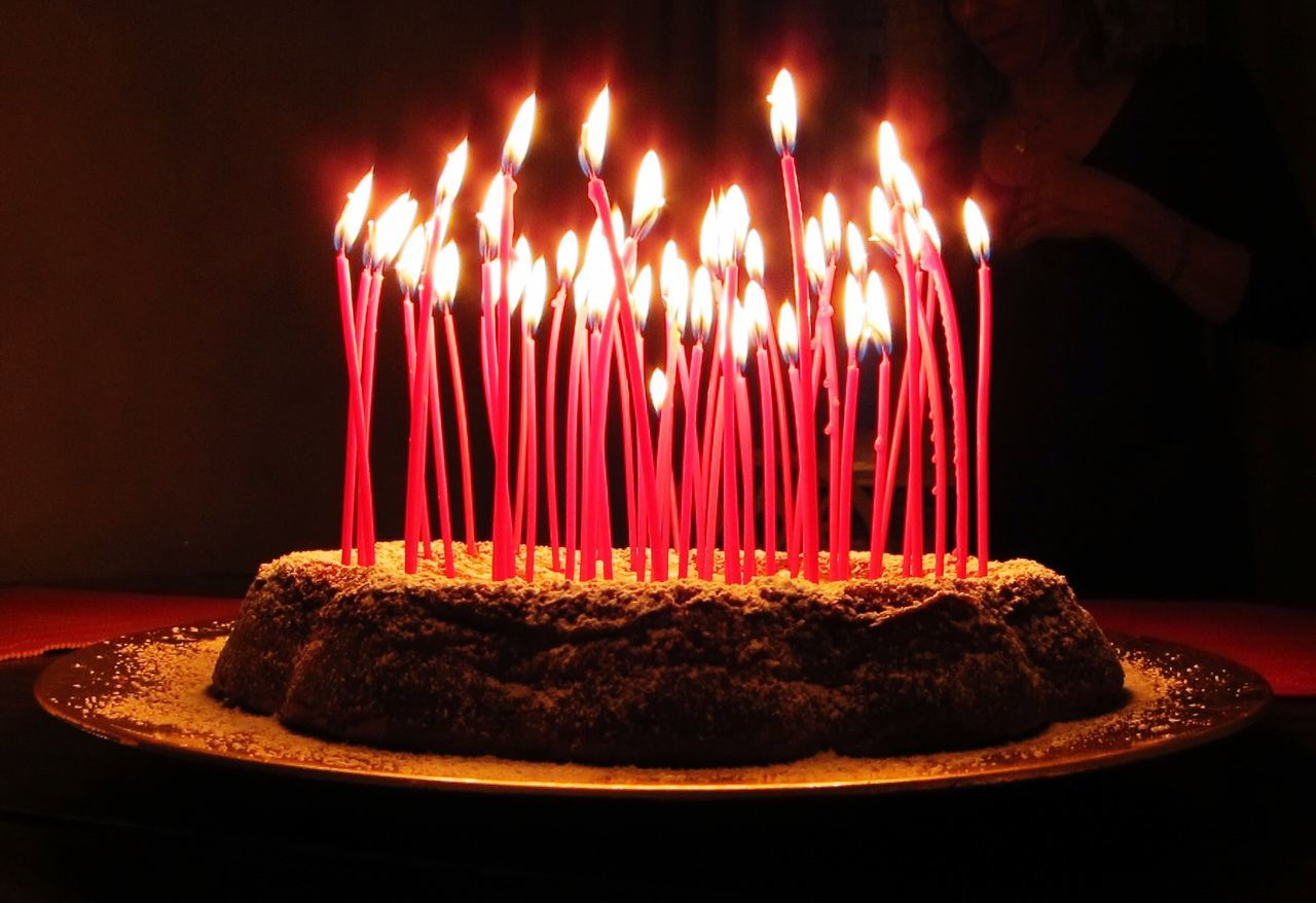 Beautiful stock photos of birthday cakes, Birthday Cake, Birthday Candles, Burning, Cake