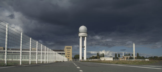 Airport Architecture Berlin Built Structure Cloud Cloud - Sky Cloudy Cold Water Day Diminishing Perspective Empty Road Former Airport Germany Long No People Outdoors Overcast Road Sky Tempelhofer Feld Vanishing Point Weather