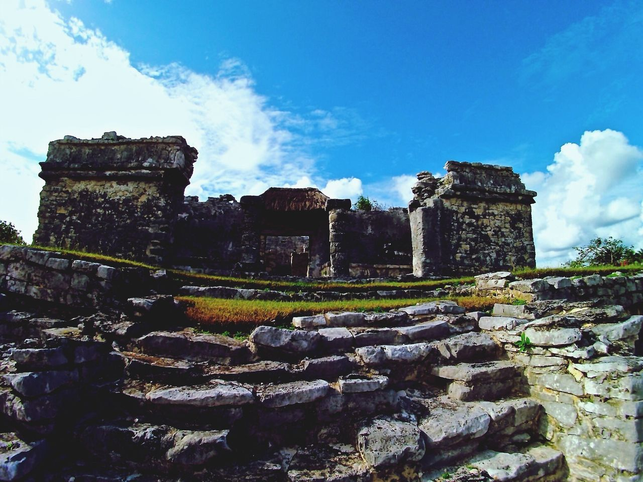 old ruin, history, architecture, built structure, ancient, ancient civilization, the past, old, archaeology, building exterior, day, damaged, sky, bad condition, cloud - sky, travel destinations, low angle view, no people, outdoors
