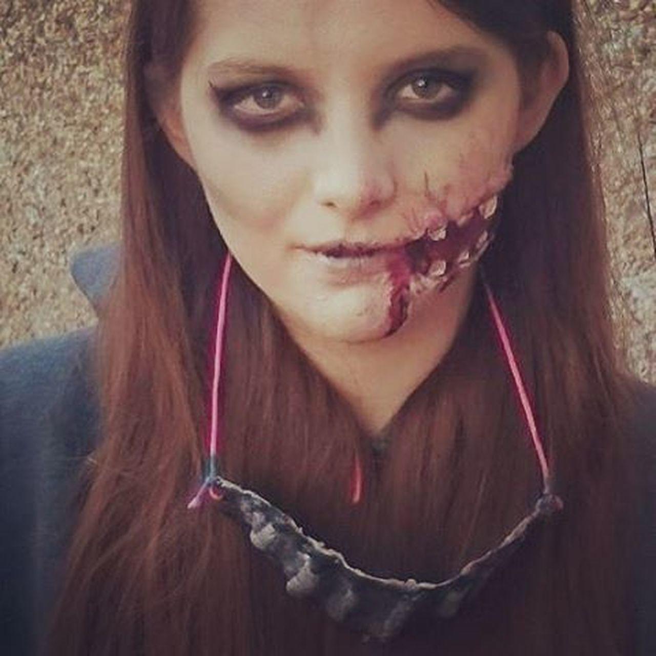 Halloween Halloweenmakeup Flesh Zombieapocalypse
