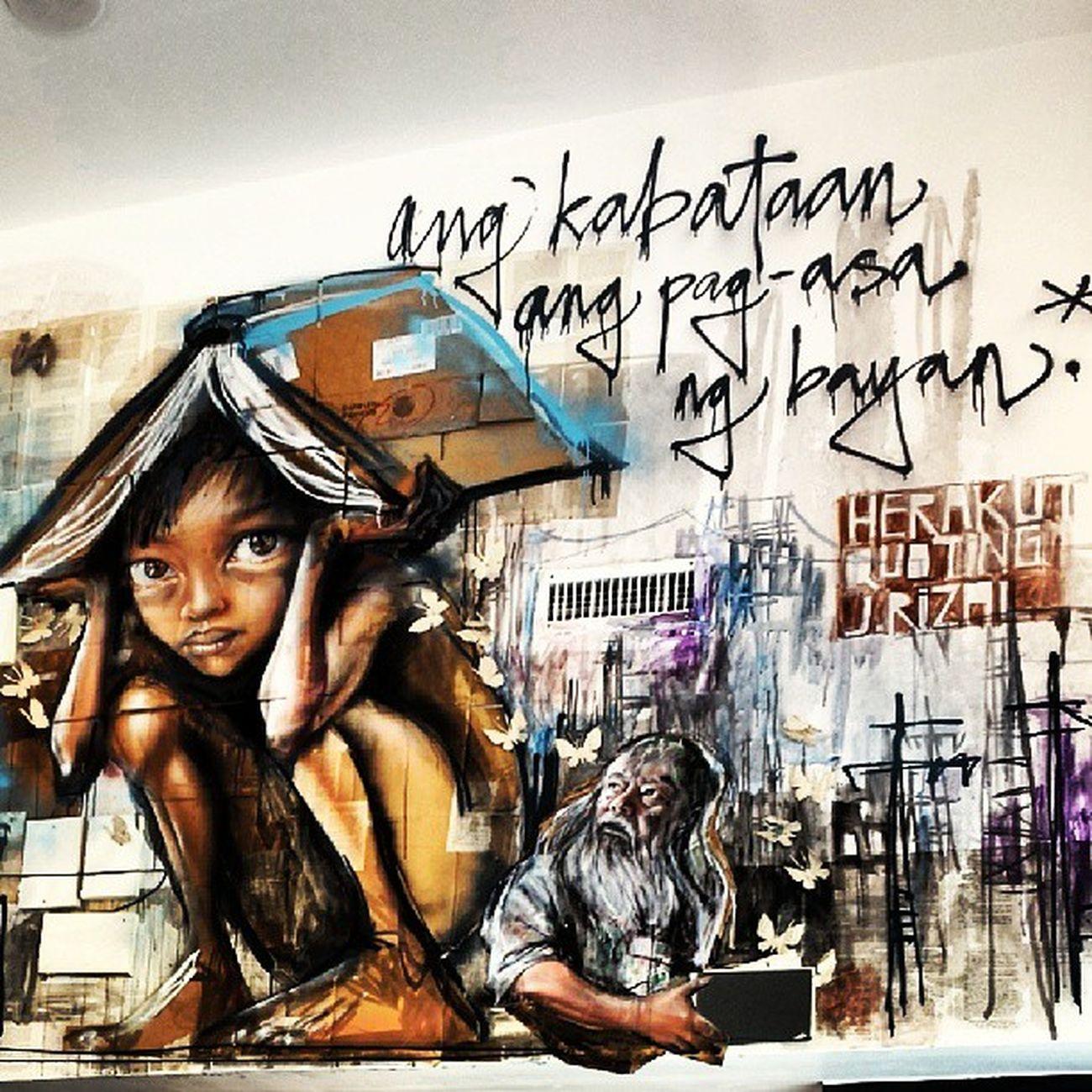 Ang kabataan ang pagasa ng bayan Mural Painting Kabataan Visualstory