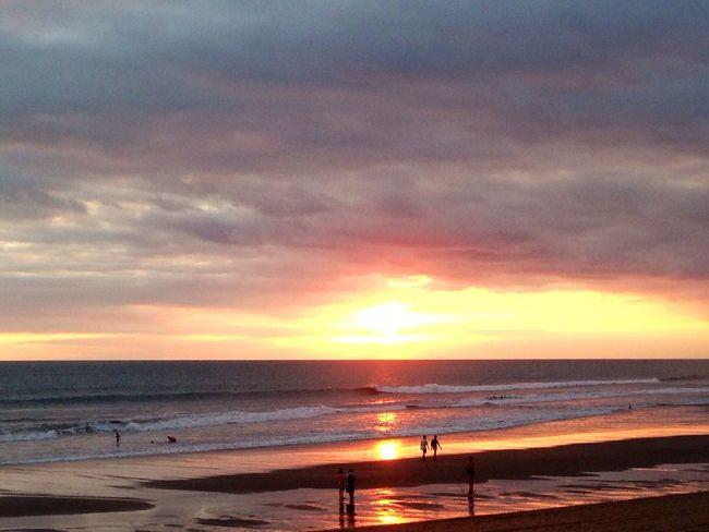 Sunset Silhouettes Eye4photography  Beach Photooftheday