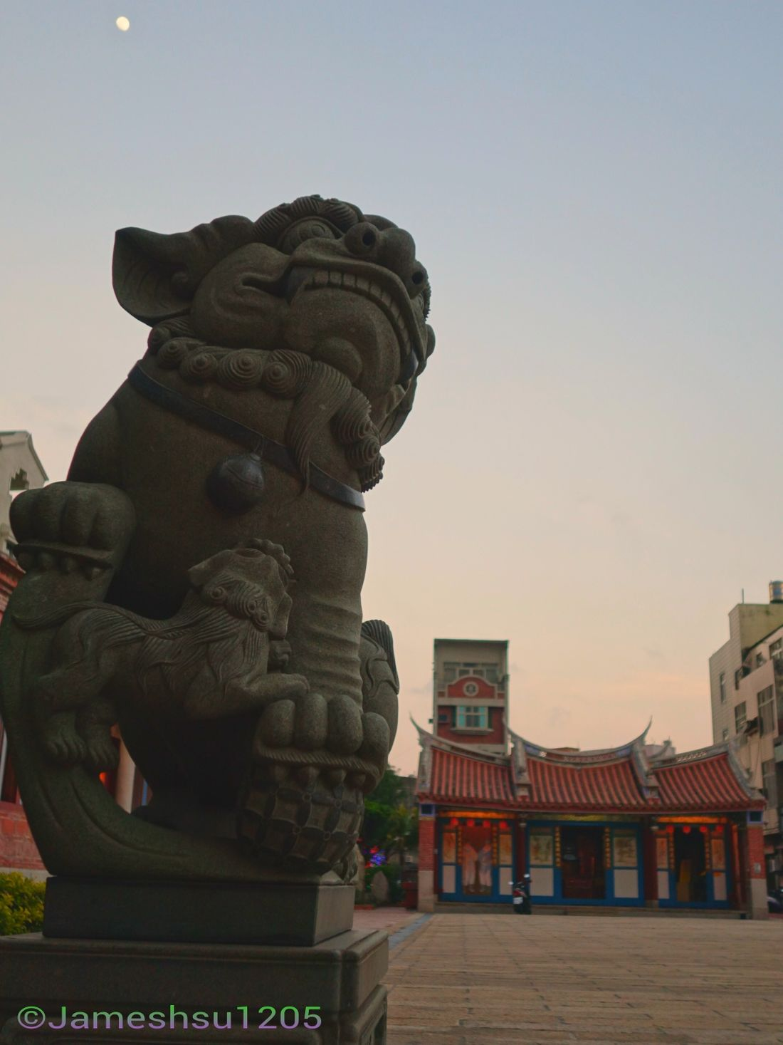 Temple Lion Taiwan Lukang