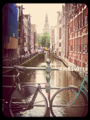 bike at Amsterdam by Iria González Boluda