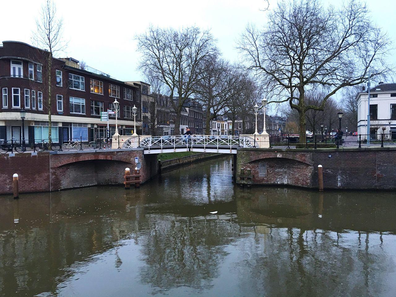 Utrecht , Netherlands Dutch Cities Dutch Canals Reflection Water Reflections