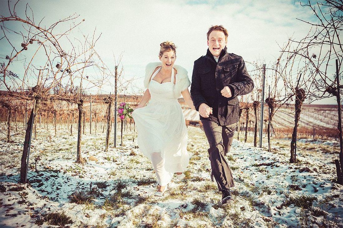 Winter Wonderland... by Ultralicht Hochzeitsfotograf Hochzeit Hubertuskapelle Niederrussbach