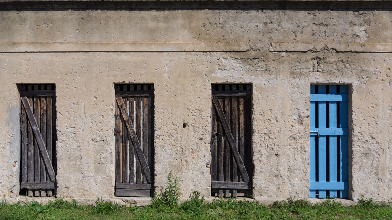 Architecture Building Exterior Built Structure Day Door No People Outdoors Weathered Window