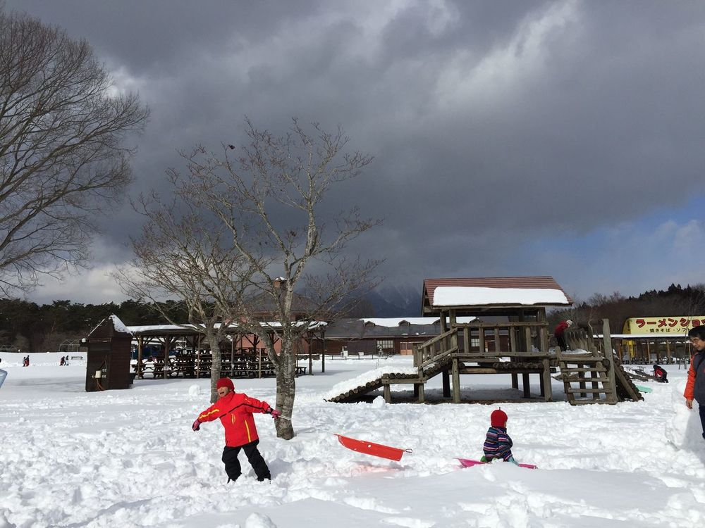 Leisure Activity Snow Tadaa Community Iwate Winter Check This Out Travel Discover Your City The Purist (no Edit, No Filter) Tohoku Japan Playground Children Playing Winterwonderland