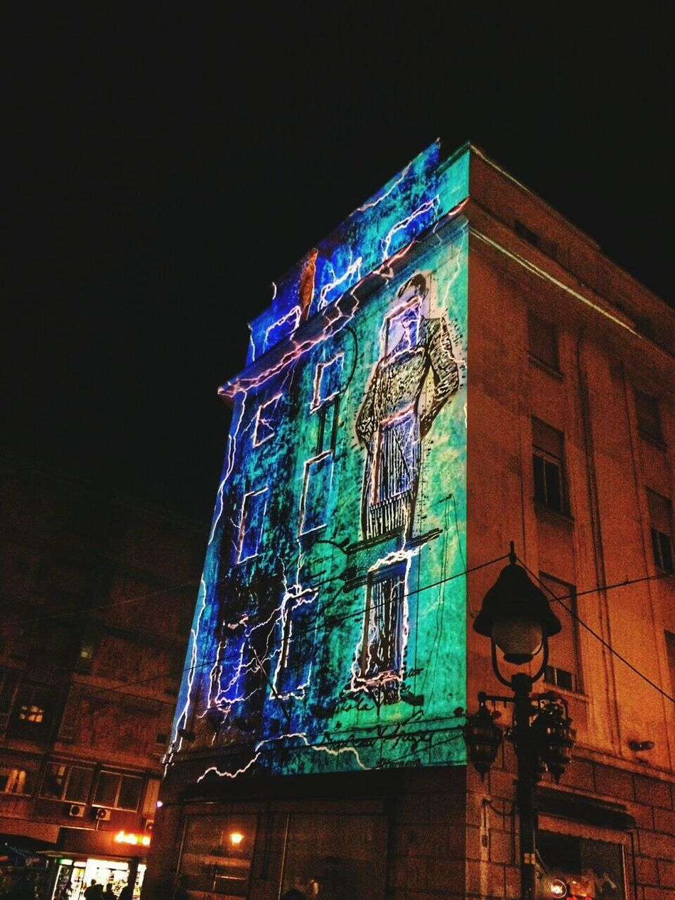 Nikolatesla 4D Street Art Street Performers Streetphotography Belgrade Belgradestreets KnezMihailova Blue Effect Amazing View 160 Of Nikola Tesla Eye4photography  Enjoying The View EyeEm Gallery