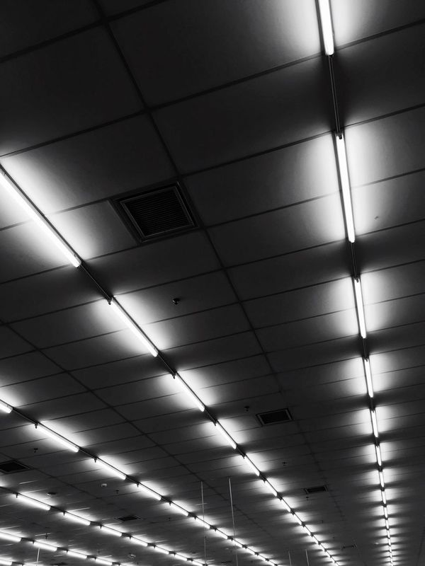 Illuminated Ceiling Lighting Equipment Indoors  No People Electricity  Low Angle View Ceiling Light  Architecture Day