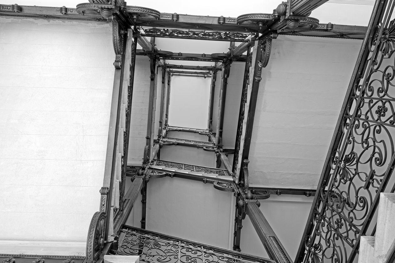 Eiffel Palace staircase - Budapest Architecture Architecture Blackandwhite Bw Design Interior Design Riccsi Staircase Stairs