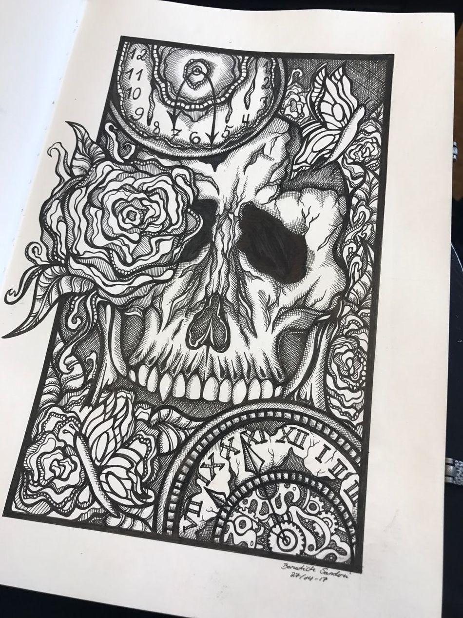 Design Drawing - Activity Tattoo Life Pen Pen Drawing Tattoodesign Skull Tattooartist  Butterfly Pendrawing Tattoo Ink Drawing Inspirations Drawing - Art Product Creativity Flower Tattoos Tattooed