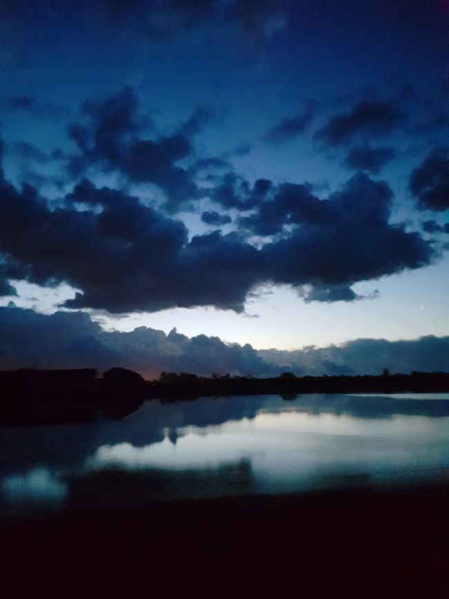 Italy Reflection Nature Paddies Water Lombardia Lomellina Dramatic Sky Beauty In Nature Cloud - Sky Scenics Night No People Tranquil Scene Landscape Outdoors Sky Mountain Lake Storm Cloud