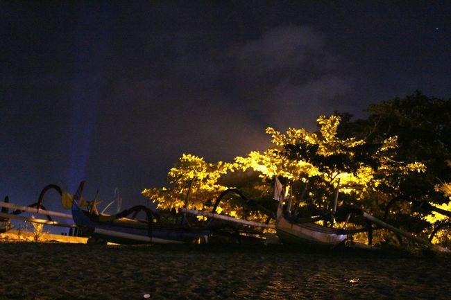 Nightlife Nightlife Nightlifephotography Beachatnight Beach Beachphotography Amateurshot Amateurphotography Amateurphotographer  INDONESIA Sanur Bali Fisherboat Nightlight First Eyeem Photo The Great Outdoors - 2016 EyeEm Awards Eyeemphoto