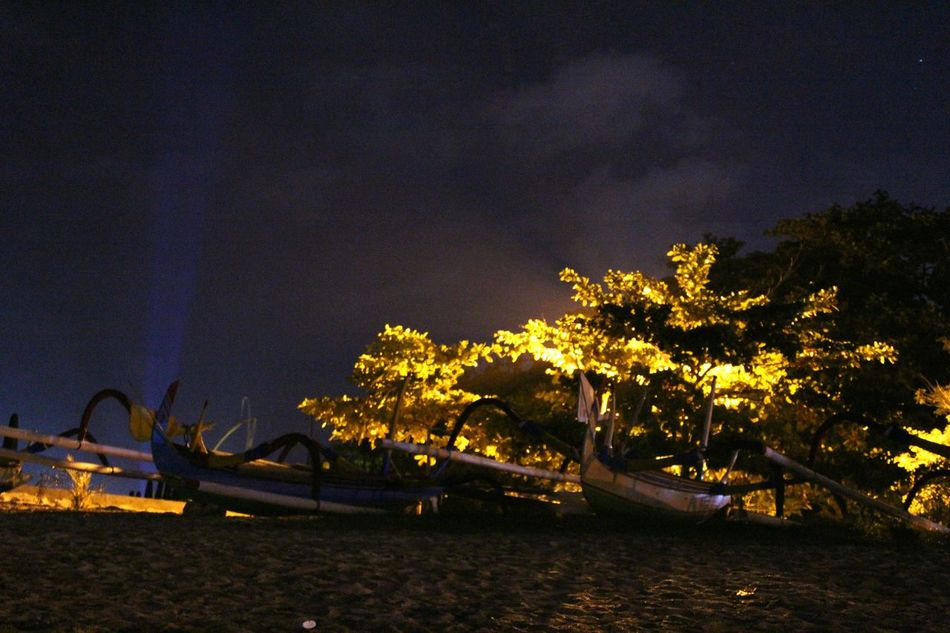 Nightlife Nightlife Nightlifephotography Beachatnight Beach Beachphotography Amateurshot Amateurphotography Amateurphotographer  INDONESIA Sanur Bali Fisherboat Nightlight First Eyeem Photo The Great Outdoors - 2016 EyeEm Awards Eyeemphoto The City Light Welcome To Black