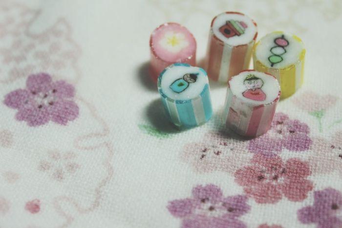 ひなまつり Candy Colorful Papabubbleやっぱり美味しい💕