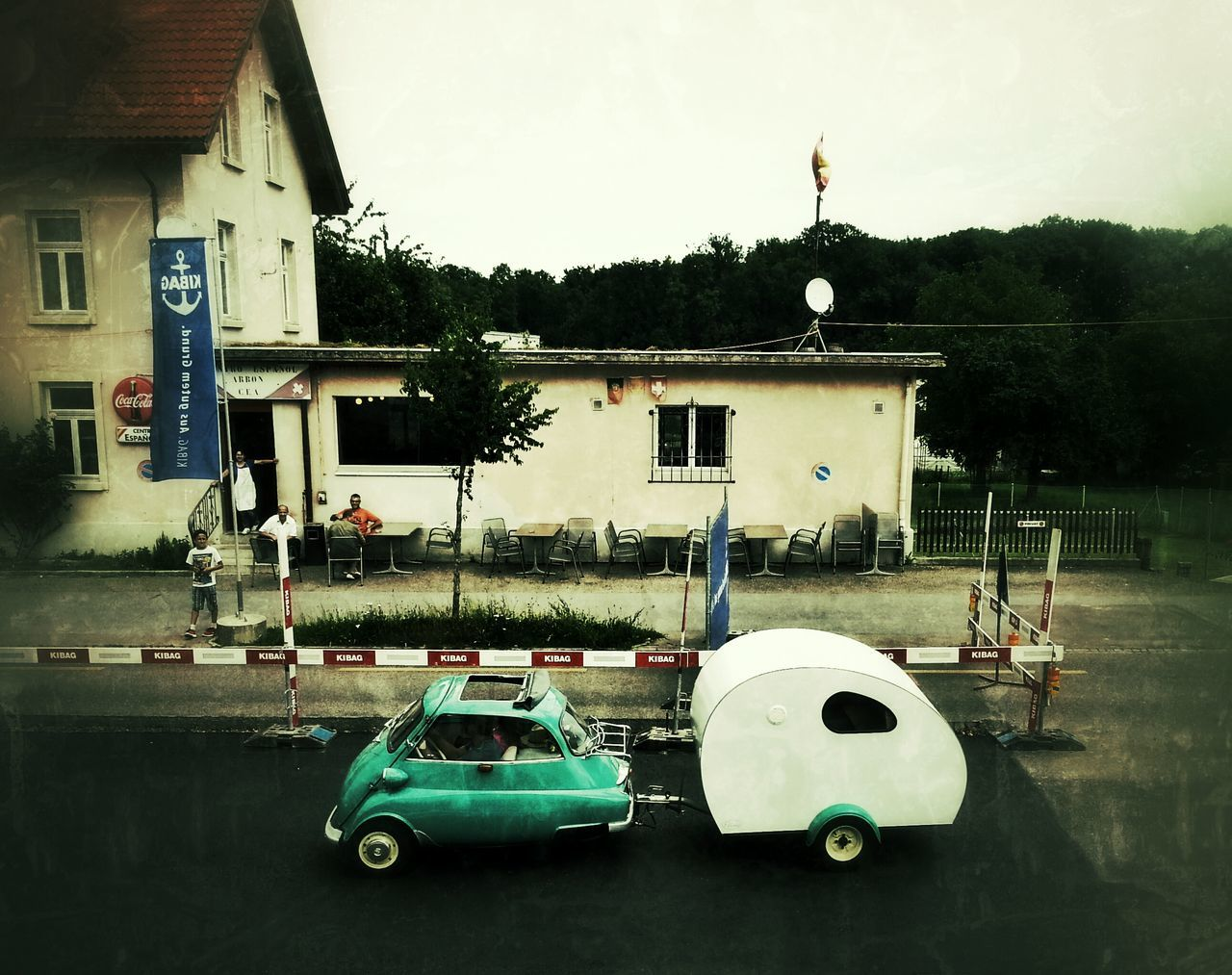 Hanging Out Holidays Camping Isetta