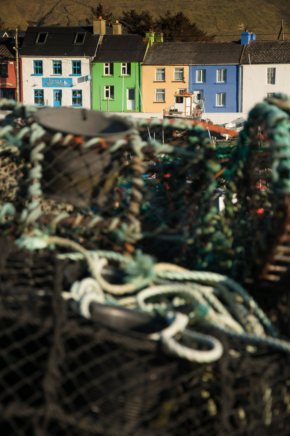 Beautiful stock photos of ireland, Architecture, Building Exterior, Built Structure, Commercial Fishing Net