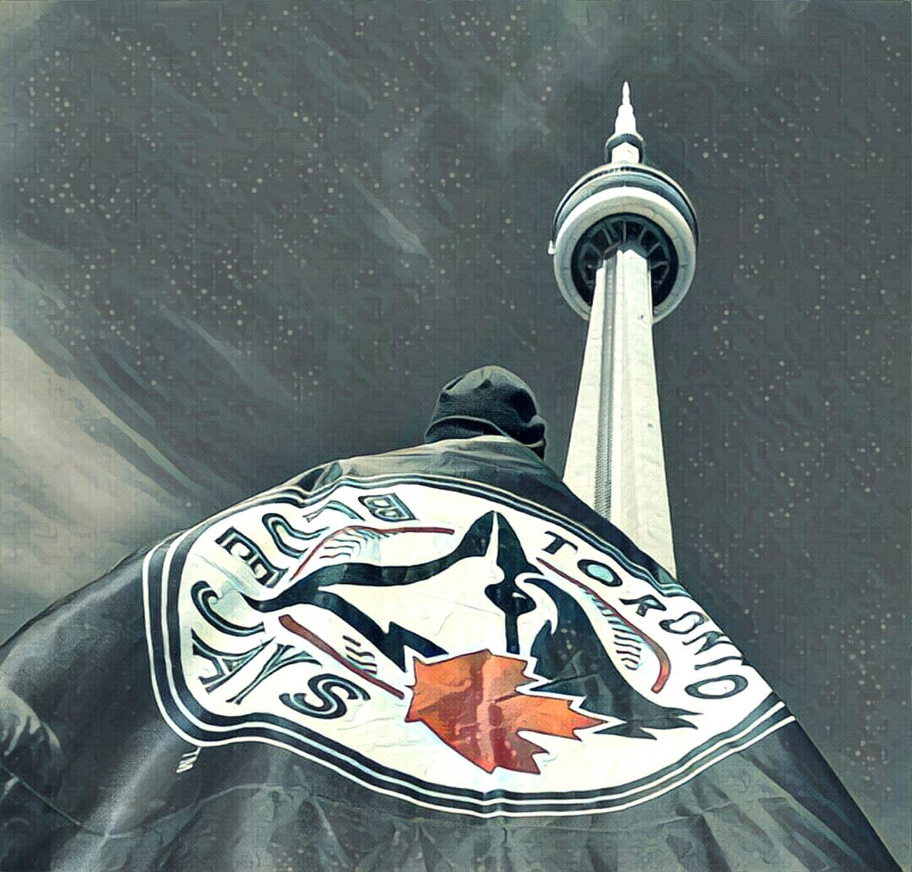 Toronto Canada CN Tower - Toronto TorontoBlueJays Maple Leaf Canada, Eh? Baseball ⚾ Happy183rdtoronto Outdoors Sky Home Sweet Home ♥ Bornandraised Canada