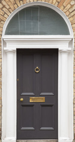 Dublin Individuality Ireland Old Fashioned Resistance  Wood Architecture Building Exterior Built Structure Civil Day District Door English Front Door Gregorian Grey Historical Law Medieval Neighborhood No People Outdoors Safety Series
