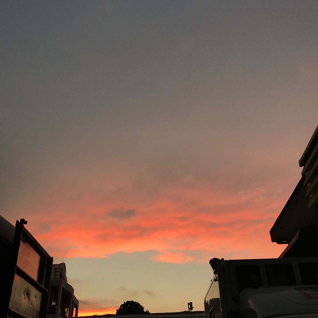 170320170639pm : school Sunset Sky No People First Eyeem Photo